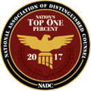 Attorney Top One Percent 2017